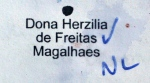 Camellia japonica 'Dona Herzilia de Freitas Magalhaes'